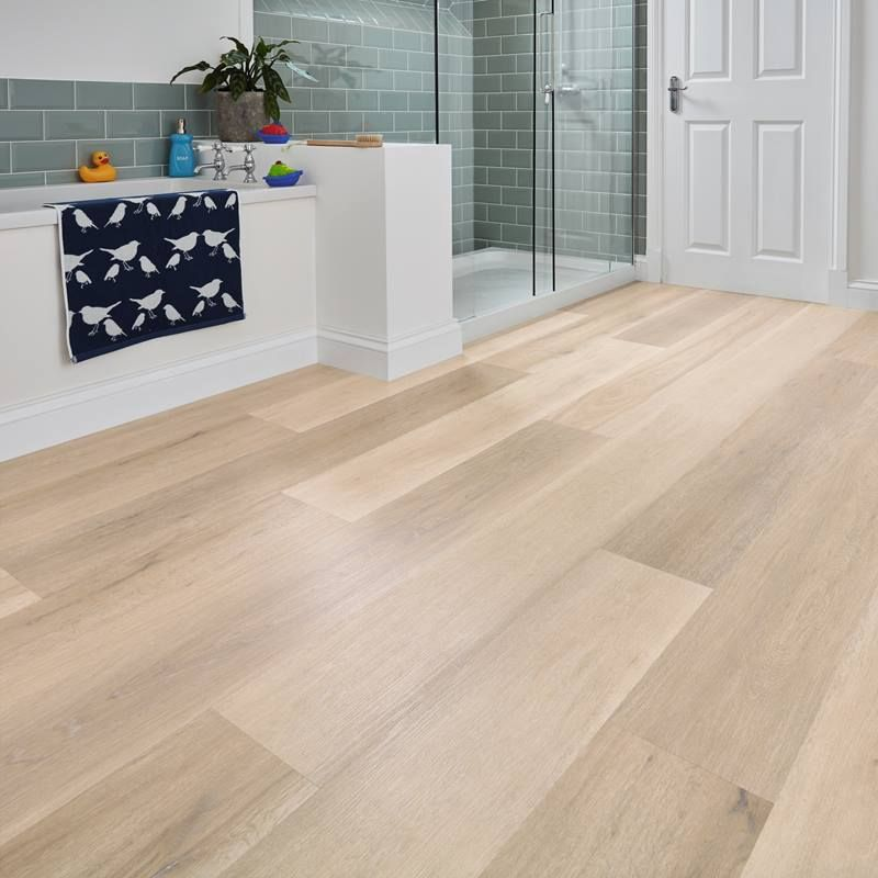 Take A Peek At This Gallery Of Linoleum Flooring Ideas: Korlok RKP8105 Texas White Ash. Light Natural Wood Effect