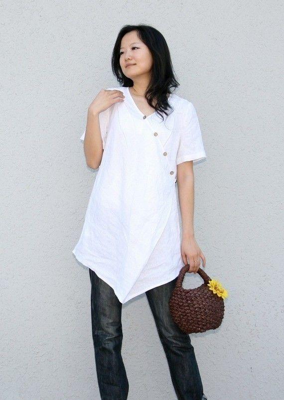 Irregular shirt(more colour and size choice) | Cosas para ponerme ...