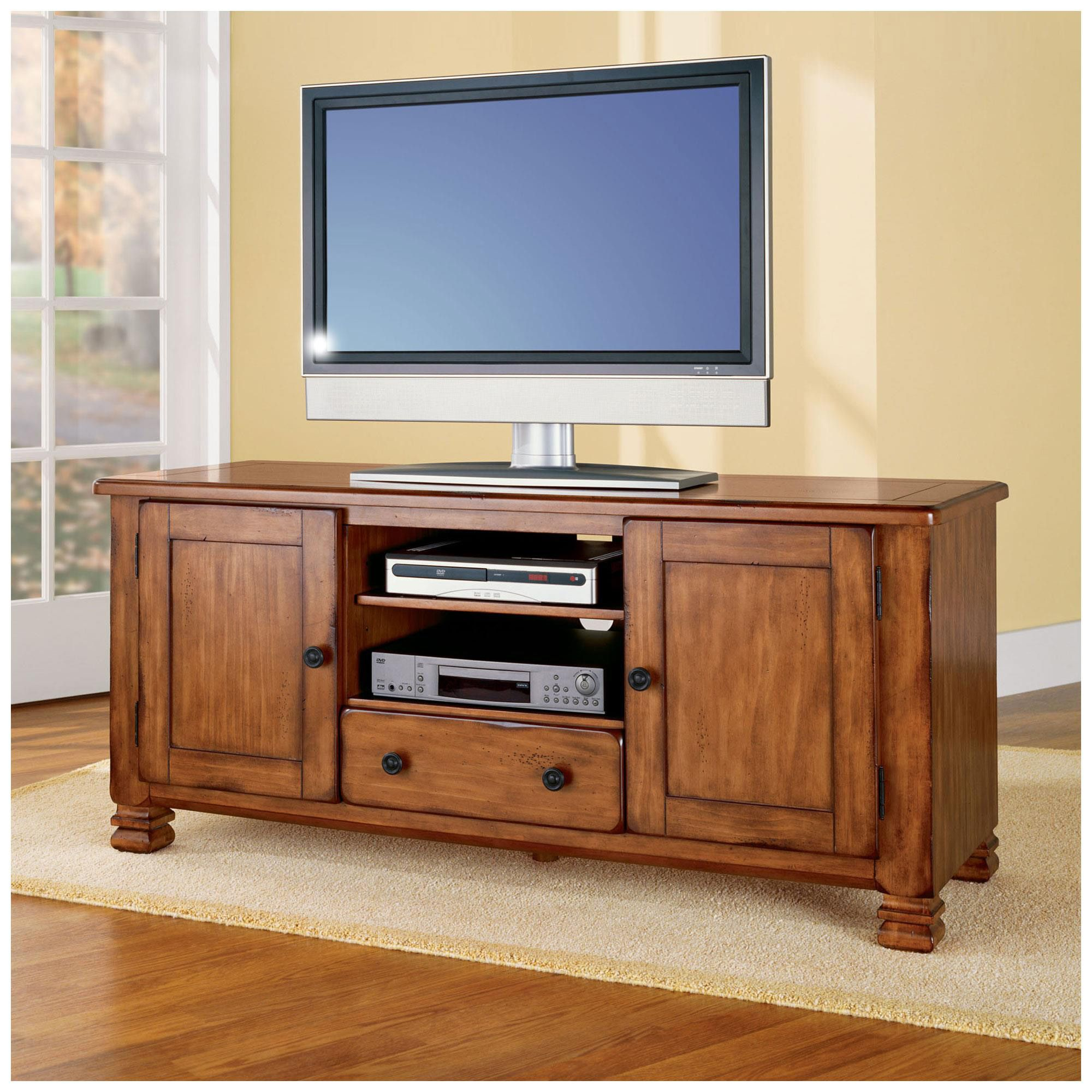 Dorel Home Furnishings Summit Mountain Tuscany Oak Tv Stand Brown Home Tv Stand Wood Oak Tv Stand Oak tv stands for 55 inch tv