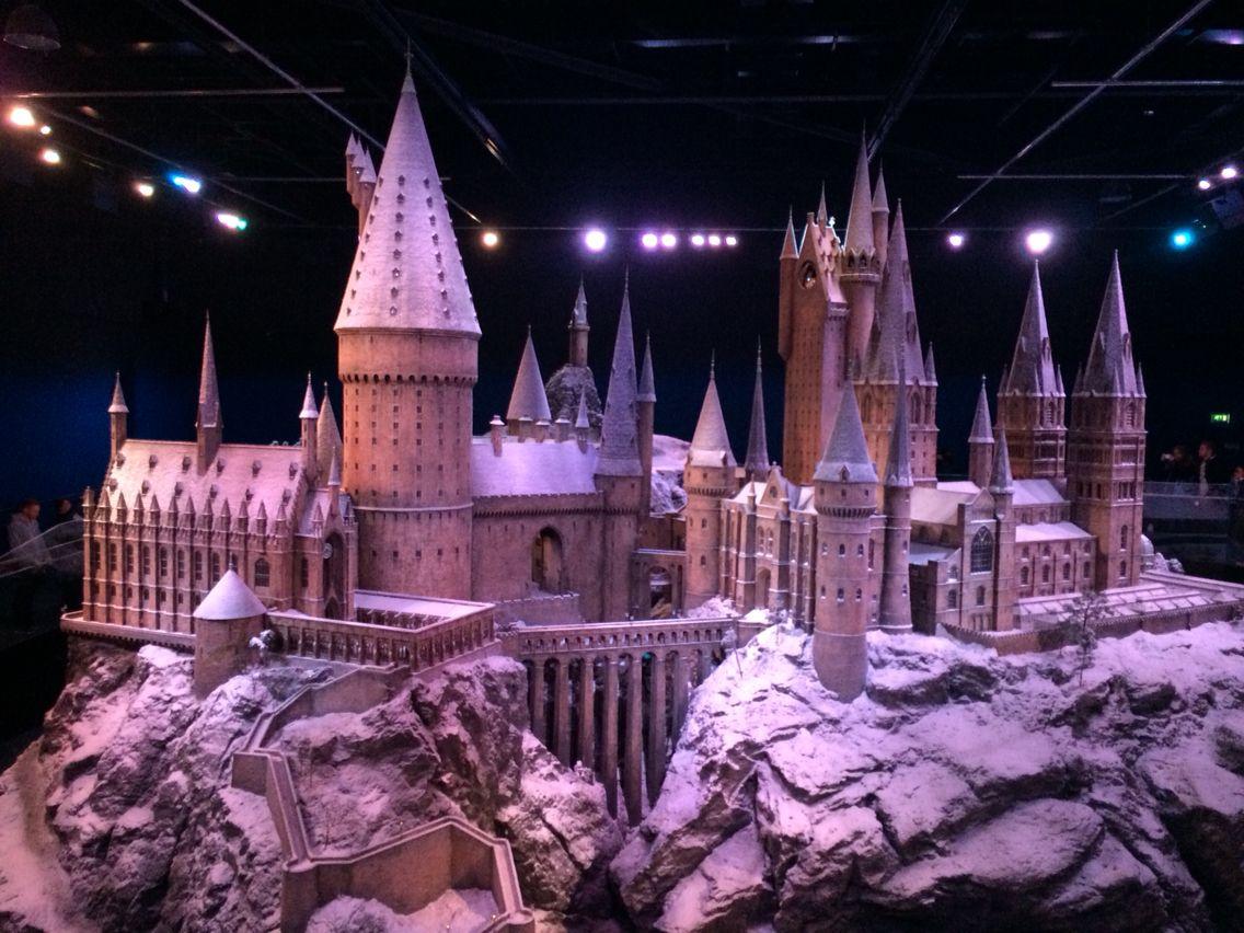 Hogwarts Castle Harry Potter Studio Tour London England Annavincensa Harry Potter Studio Tour Hogwarts Castle Harry Potter Studios