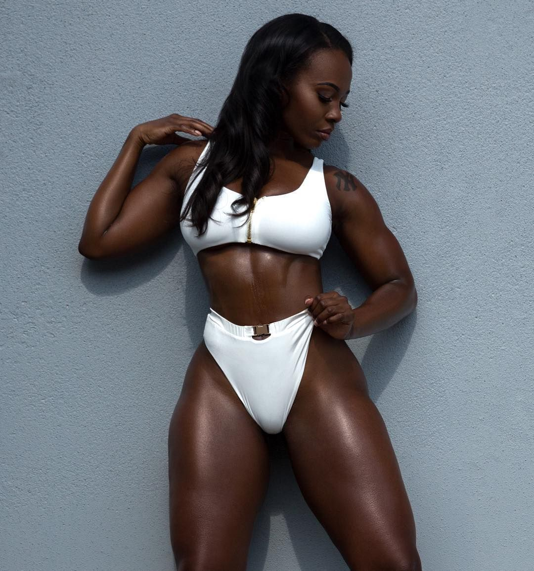 Pin By Samurai James On Vestidos Black Beauty Tumblr Fitness Inspiration Body Dark Skin Women