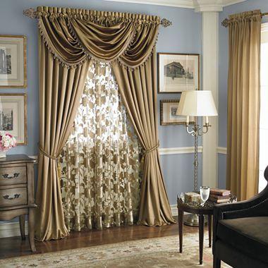 Royal VelvetR Hilton Window Treatments Curtain IdeasWindow CurtainsFrench CurtainsDining Room
