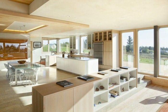 wohnungseinrichtung ideen offener wohnplan essbereich kueche - offene küche ideen