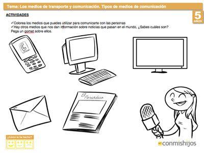 Ejercicio sobre los tipos de medios de comunicación | Medios de ...