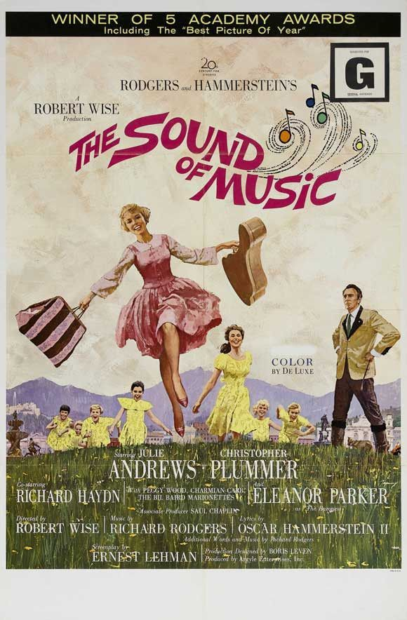 The Sound of Music 27x40 Movie Poster (1965) #thesoundofmusic