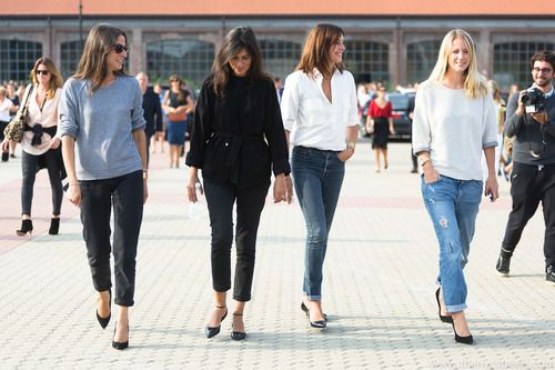 Chic casual looks