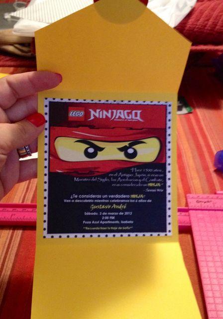 Lego Ninjago Ninja Birthday Party Ideas Preston Lego Ninjago