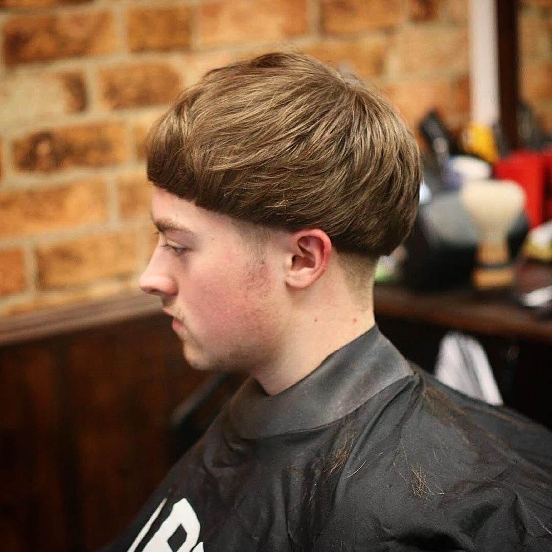 Bowl cut haircut men nice  eyecatching bowl cut designs  for stylish men check more