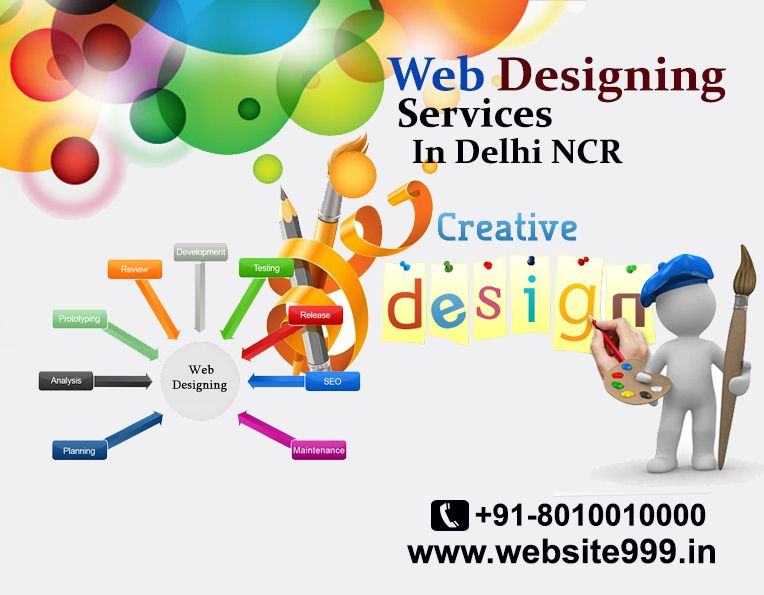 #Web_Designing_Services in Delhi NCR - As the leader in highly specialized web #designing services, #Website999 creates customized #website at affordable #prices. See more @ http://bit.ly/12tV1g5