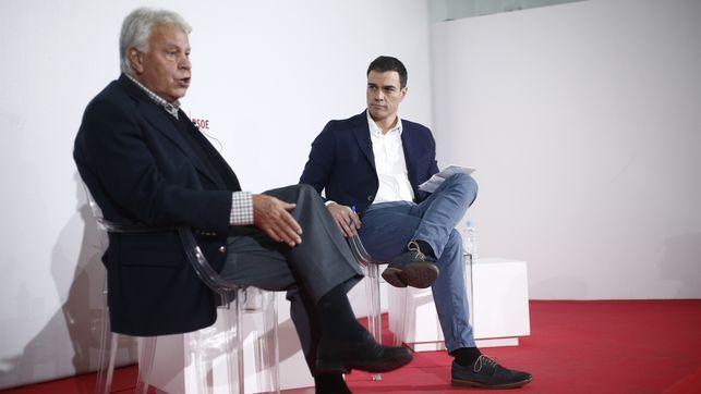 Felipe González cree que Pedro Sánchez debe dimitir si el Comité Federal tumba su plan