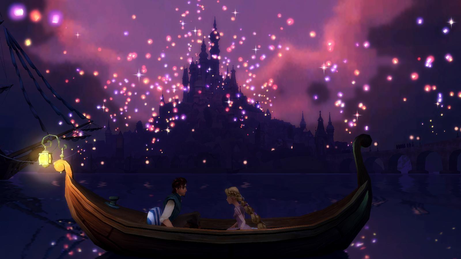 Disney Tangled By Nylah22 On Deviantart Tangled Wallpaper Tangled Lanterns Scene Tangled Lanterns
