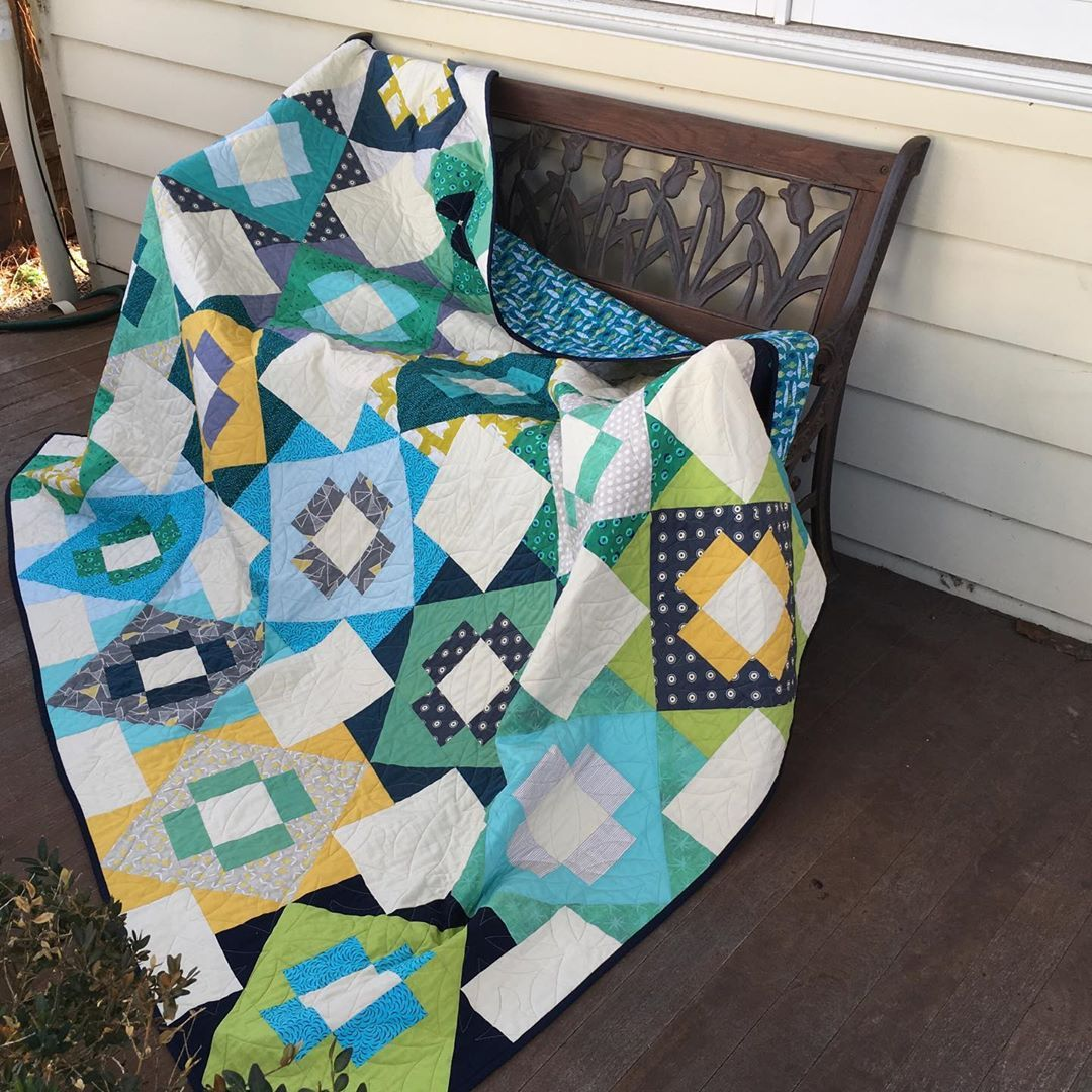 """Jenny Rowsell On Instagram: """"My Completed Meadowland Quilt"""