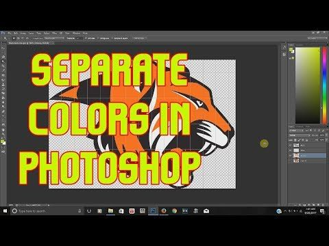 60 Screen Printing How To Spot Color Separation Using Adobe Illustrator