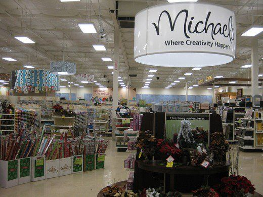 Craft The Inside Of A Michaels