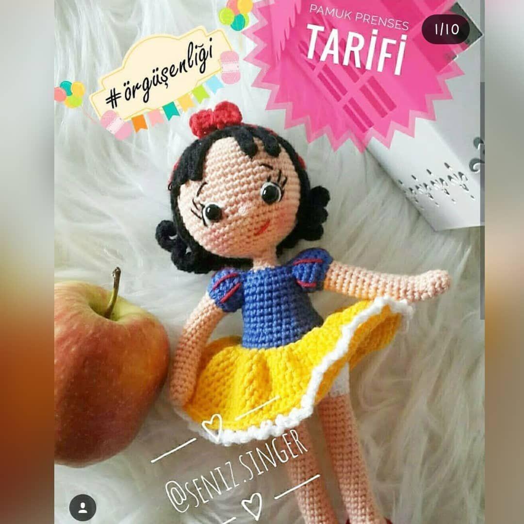 "Instagram'da Amigurumi Tarifleri: ""#Repost @meryemce_oyuncaklar ...   1079x1080"