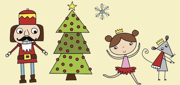El cascanueces cuentos de navidad para ni os navidad for Cascanueces jardin infantil