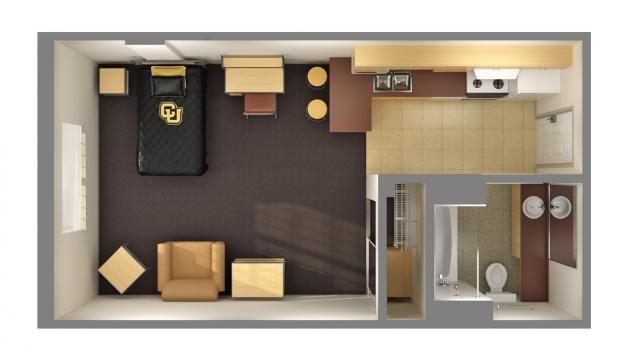 Elegant Efficiency Floorplan