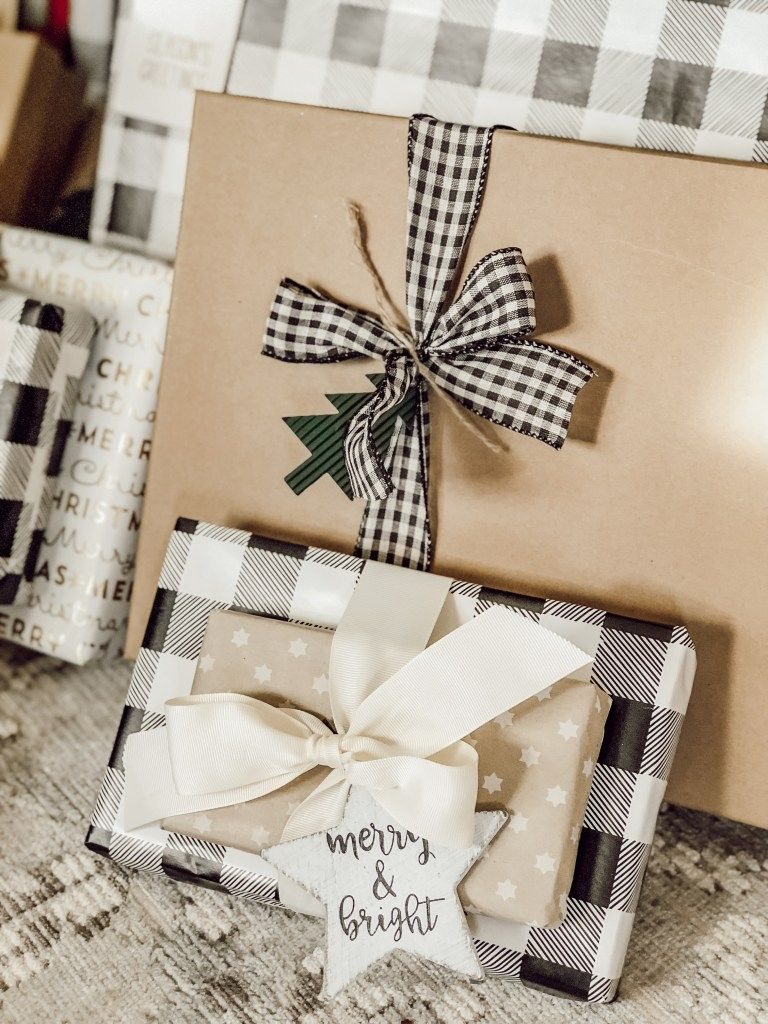 Cottage Style Christmas Wrapping Paper Ideas Vintage farmhouse holiday gift wrapping  Rain and Pine