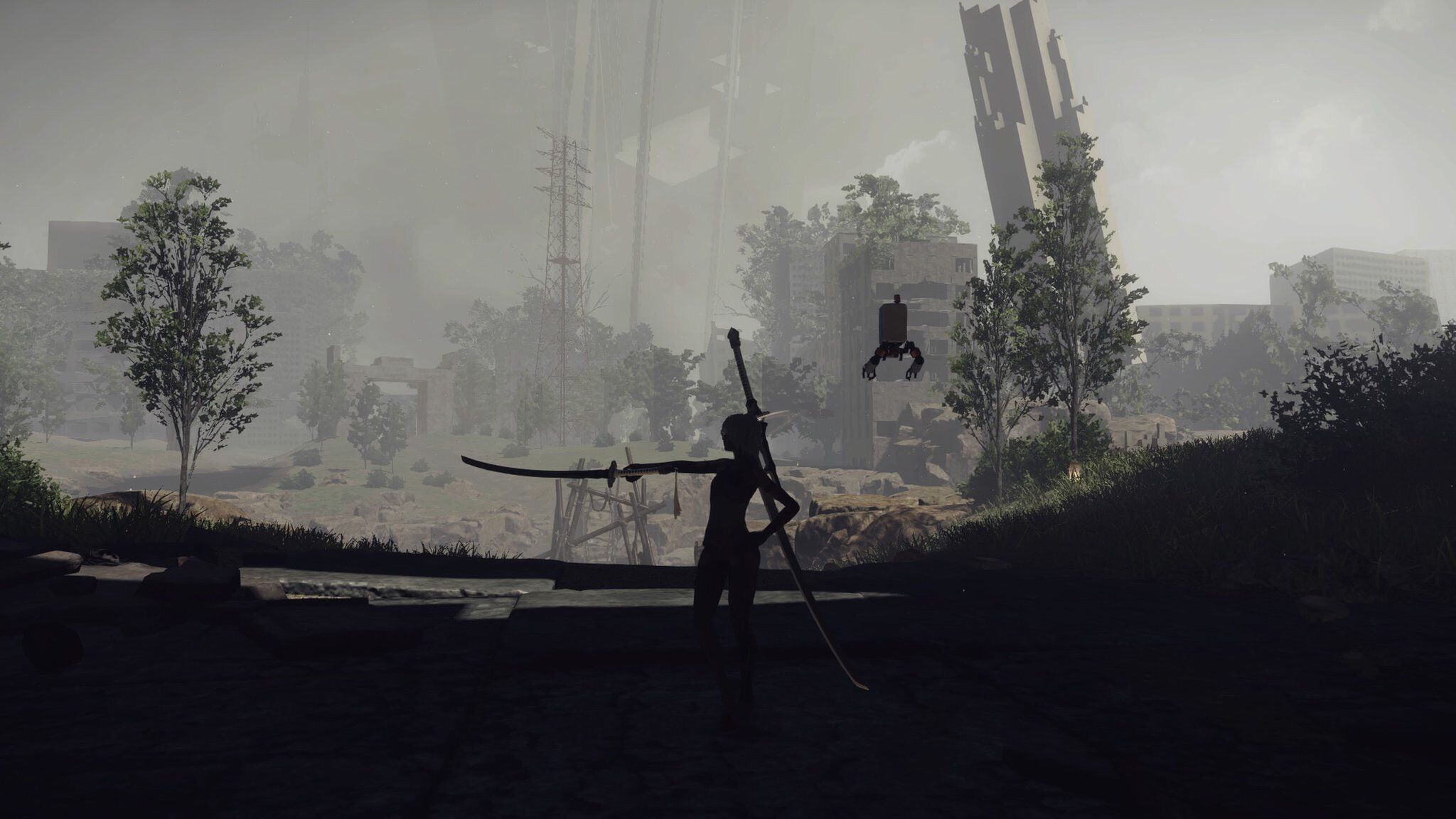 Nierautomata is a great looking game nier automata