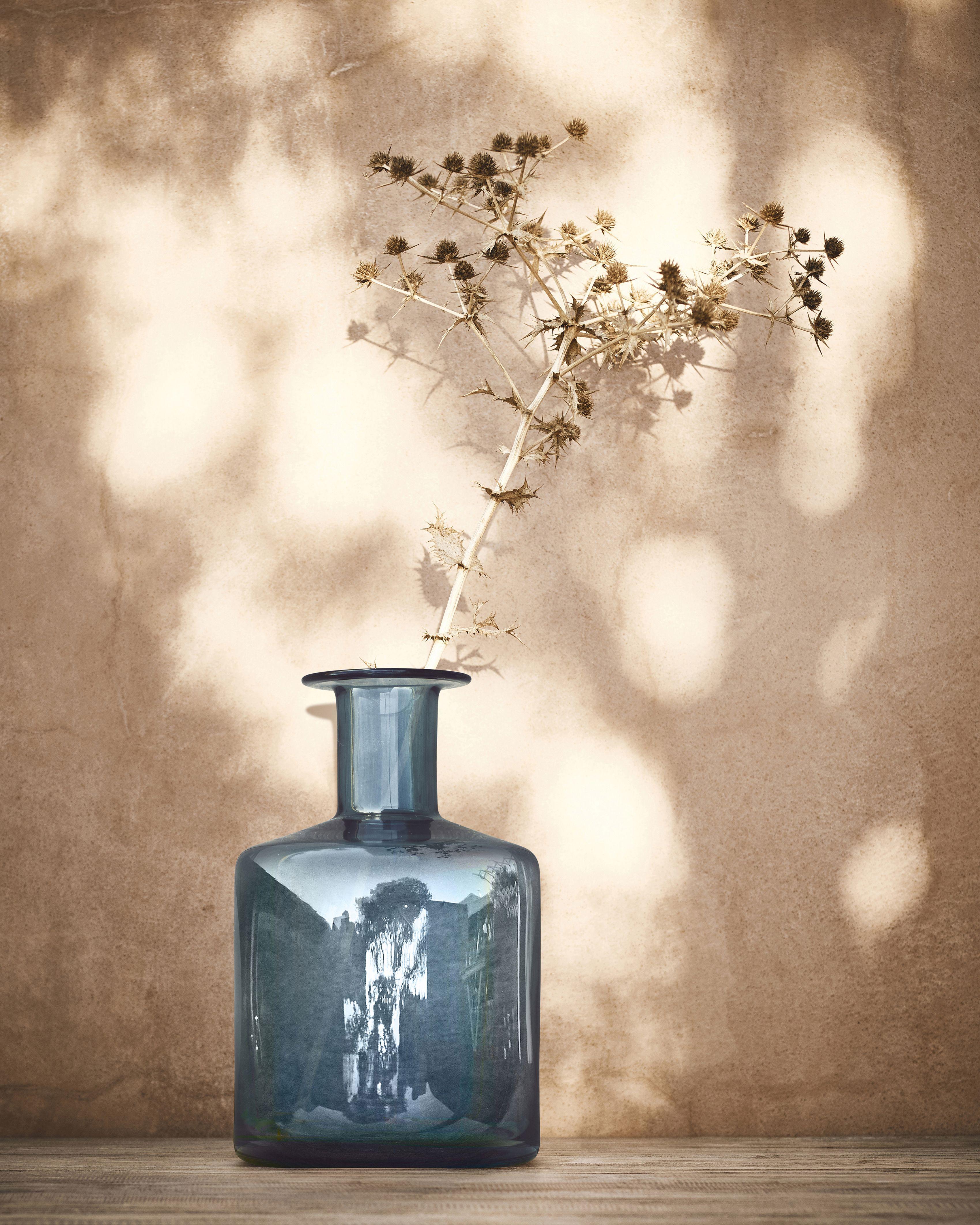Pepparkorn Vase Blau In 2019 Kommoden Dekorieren Dekorieren
