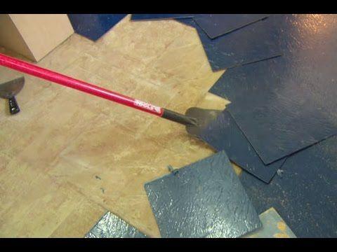 Vinyl Floor And Plywood Subfloor