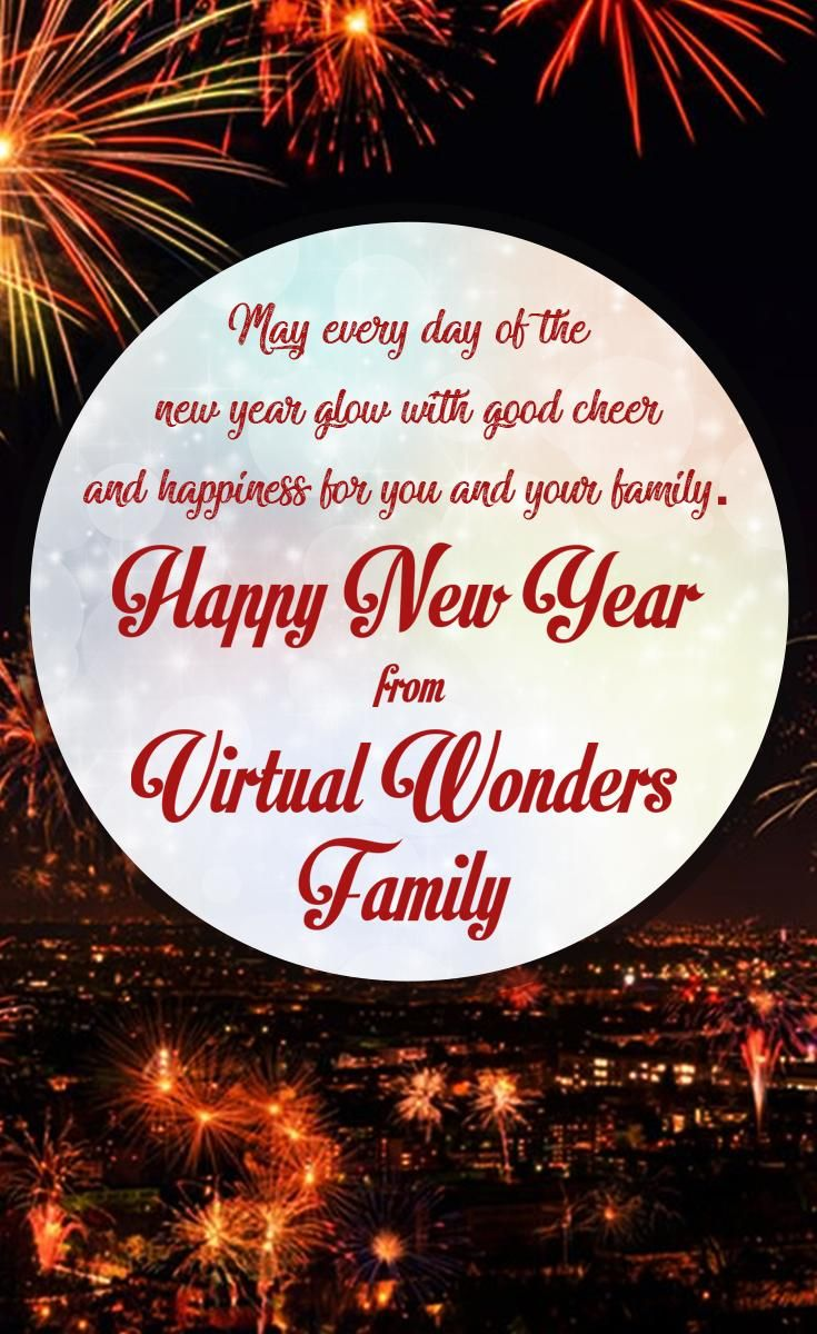 Happy New Year Everyone! http://bit.ly/join-virtualwonders ...