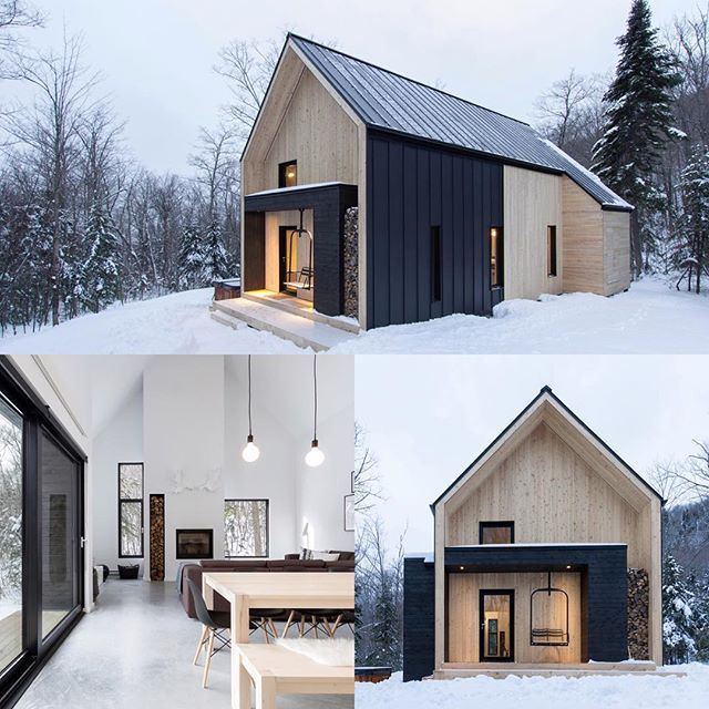 Villa Boréale, Charlevoix Dream Home Pinterest Architecture