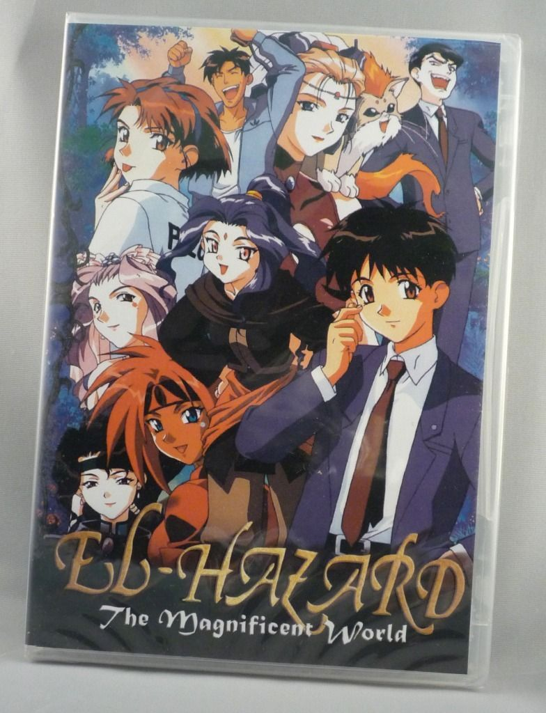 El Hazard The Magnificent World Complete Series on DVD
