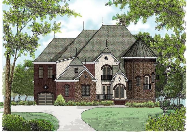 4 Bedroom 5 Bath Castle House Plan Alp 08th English Country House Plans Luxury House Plans Castle House Plans
