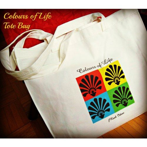 Colours of Life Tote (sold)