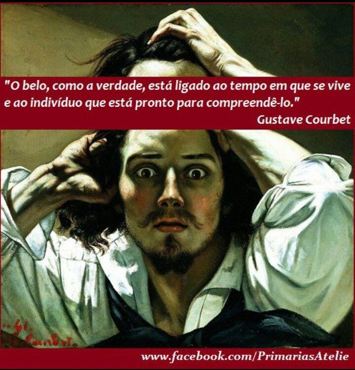 """"""" Pensamento Vivo Courbet"""" Curta a página www.facebook.com/PrimariasAtelie"""