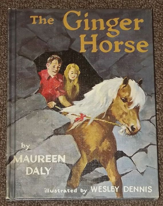 The Ginger Horse by Maureen Daly and Wesley by mainelykidsbooks