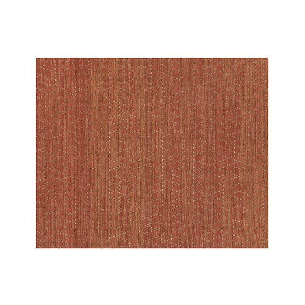 Tochi Coral Orange 8u0027x10u0027 Rug   Crate And Barrel