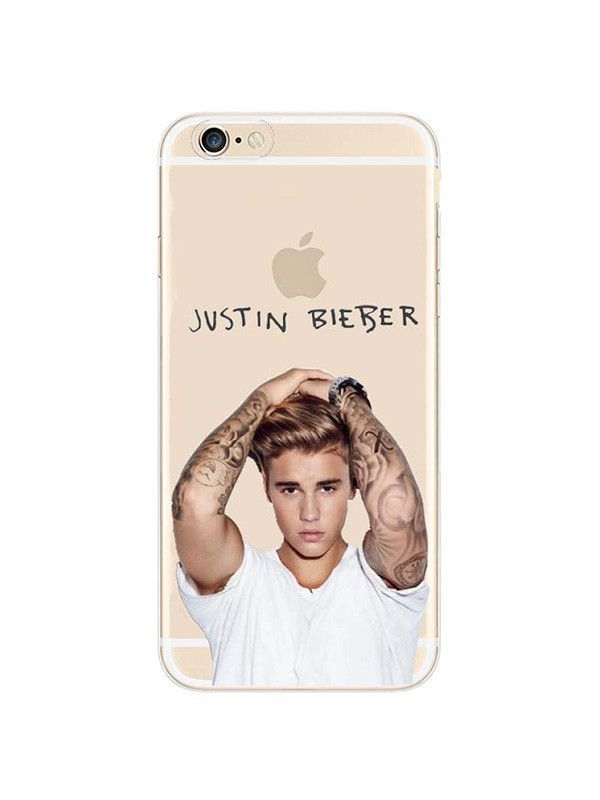Famous singer Justin Bieber iPhone case made from soft-silicone. Compatible  iPhone models  5   5s   SE 8ee61633aaa4
