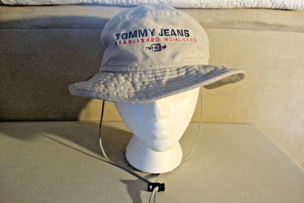db358a333f1e1a Tommy Hilfiger Jeans Floppy Safari Drawstring Hat #TommyHilfiger ...