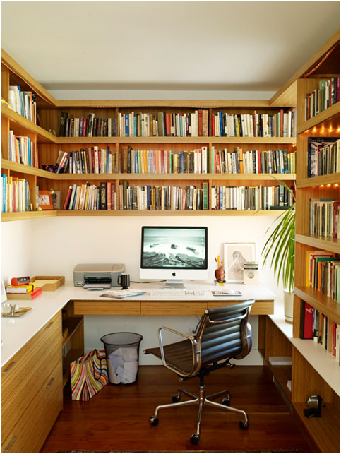 small home library design ideas - Google Search | Office | Pinterest ...