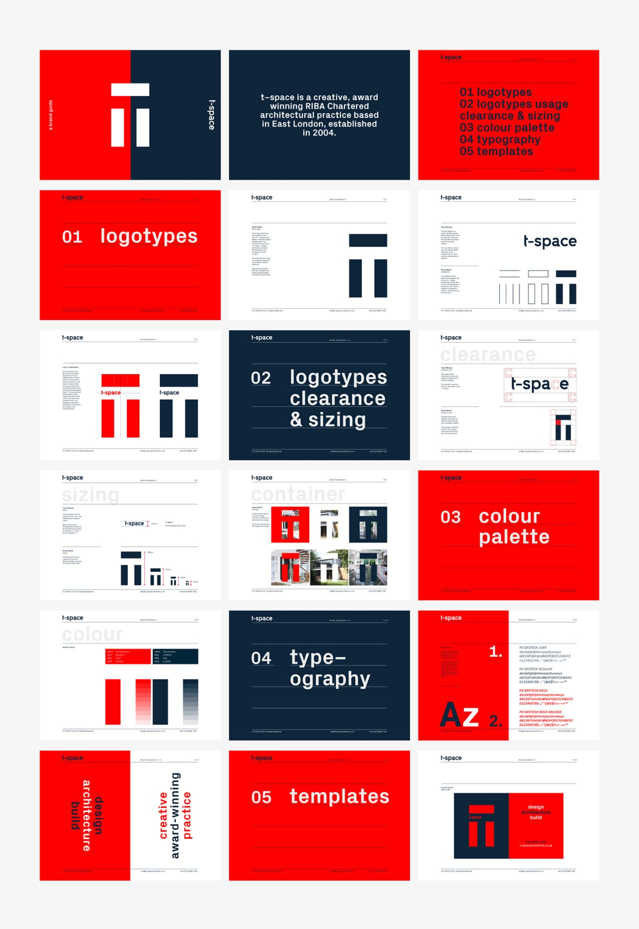 Intuition First CIS Brand guidelines design, Brand