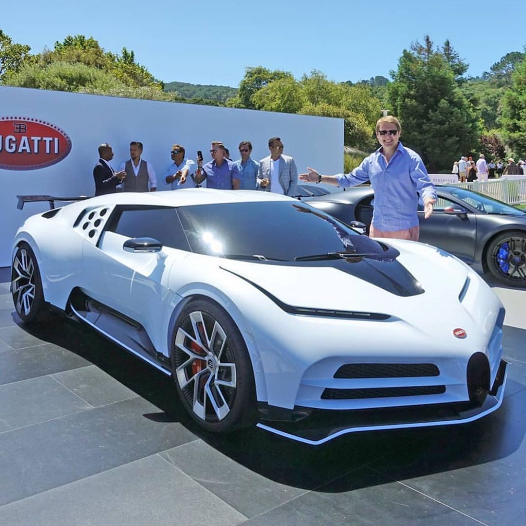 The New Bugatti Centodieci Only 10 Made In The World With A Price Tag Of 8million They Are All Sold Out Supercar Hypercar Bugatti Bugatti Cars New Cars