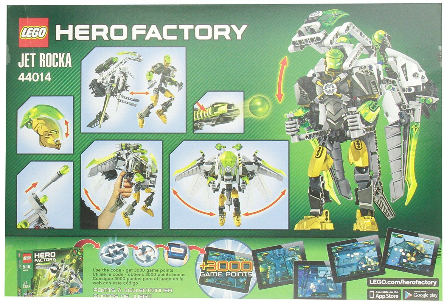 Lego Hero Factory Jet Rocka Check This Awesome Product By Going To