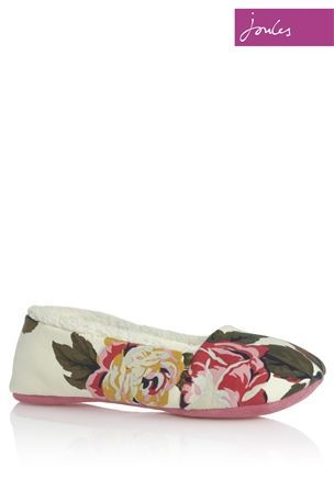 Buy Joules Dreama Cream Slippers from the Next UK online shop