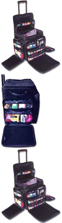 Scrapbooking Totes 146401: New Scrapbook Rolling Tote Organizer Bag Wheels  Crafts Storage Luggage Travel
