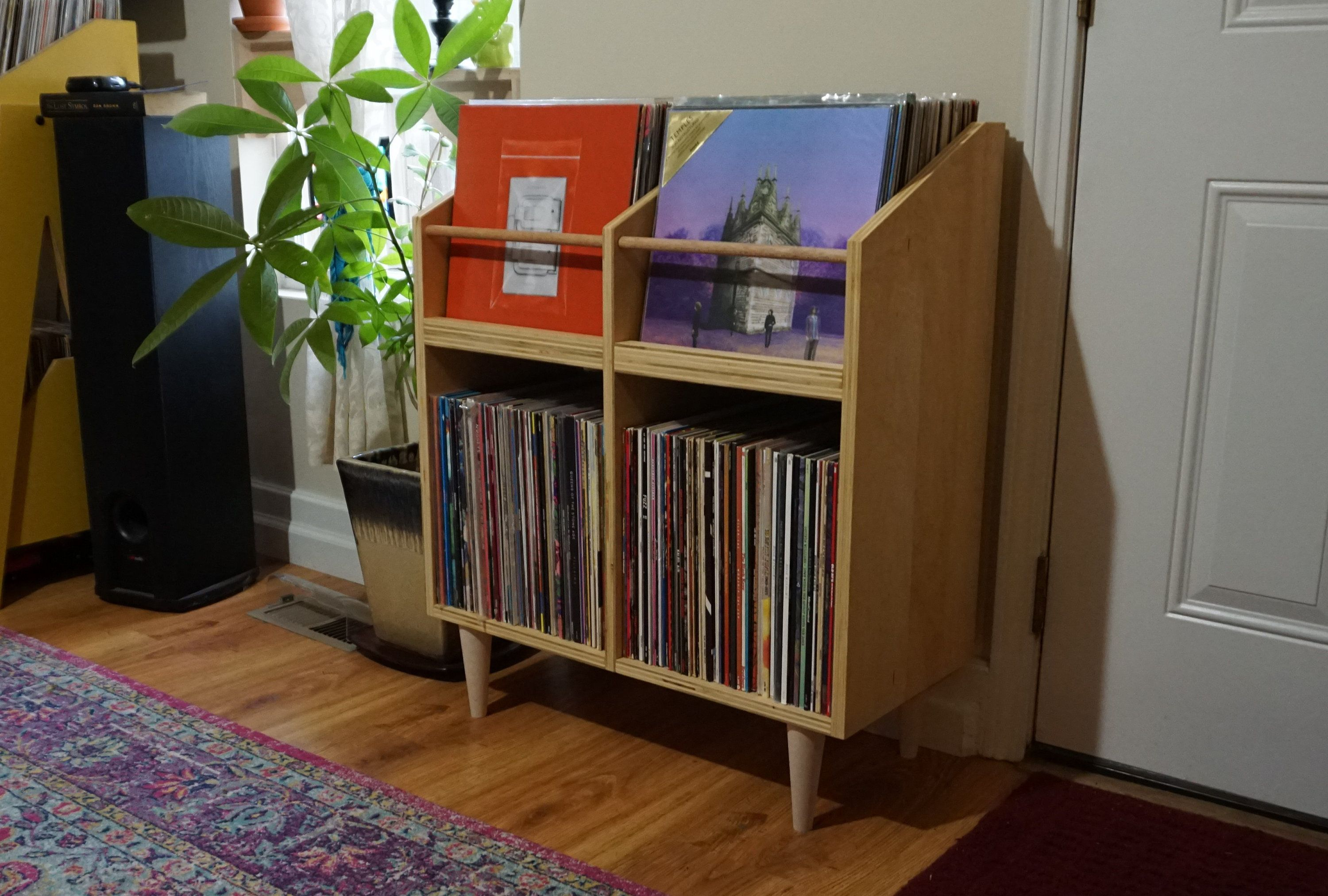 Scandinavian Vinyl Cabinet Album Storage Cabinet Lp Stand Vinyl Record Storage And Display In 2020 Album Storage Vinyl Record Storage Record Storage