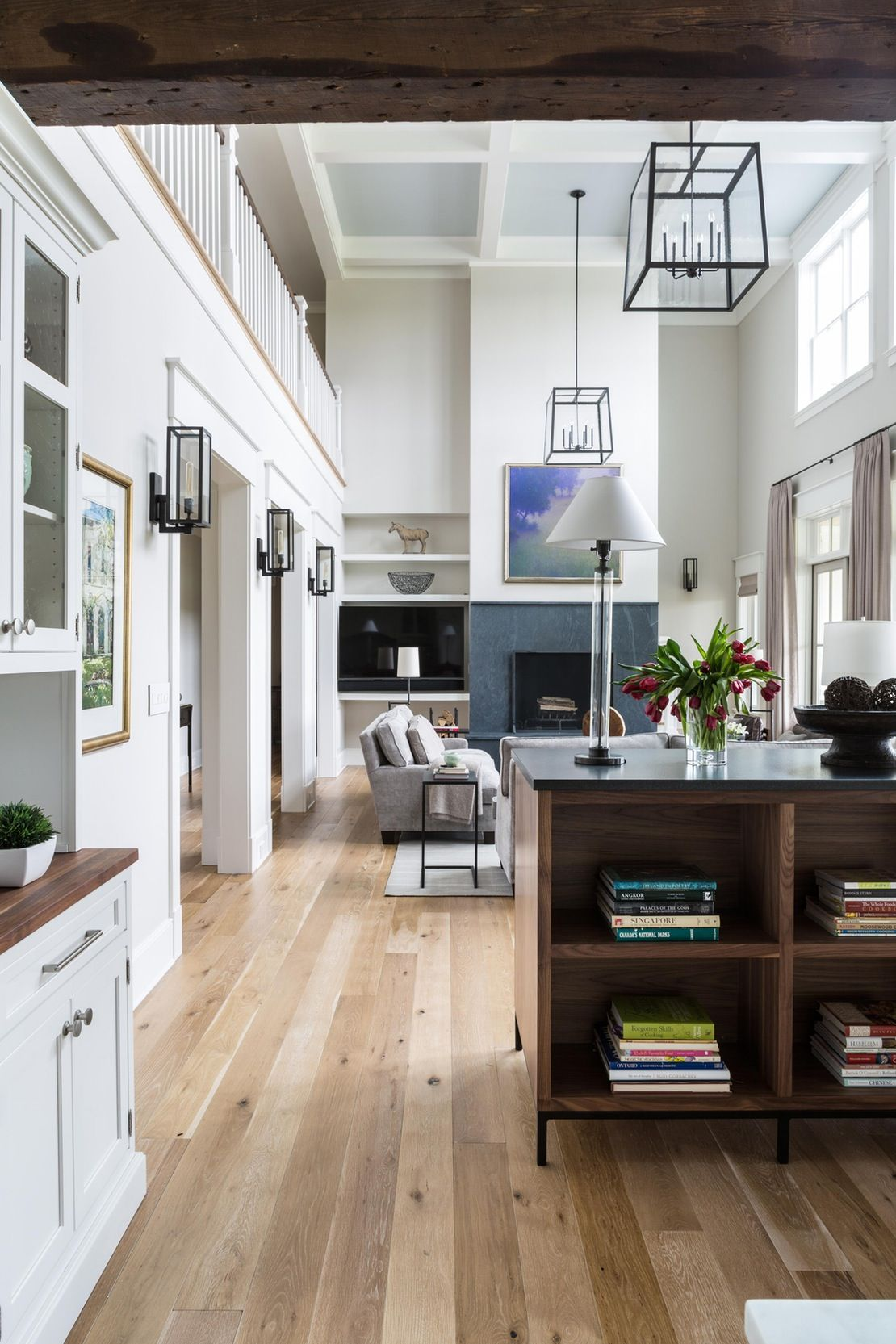 American modern living room - Families Middleburg Family Room American Modern