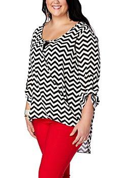 8ae5212d5c  18.99 Junior Plus Size Dressy Tops