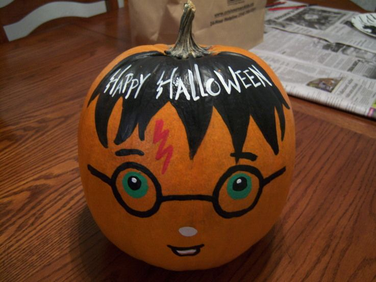 harry potter pumpkin harry potter pumpkin nerdfighters pumpkin contestpumpkin ideasharry potter pumpkin carvingpumpkin paintinghalloween - Halloween Pumpkin Designs Without Carving