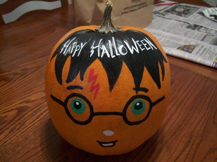 harry potter pumpkin harry potter pumpkin nerdfighters pumpkin contestpumpkin ideasharry potter pumpkin carvingpumpkin paintinghalloween - Halloween Pumpkin Designs Without Carving