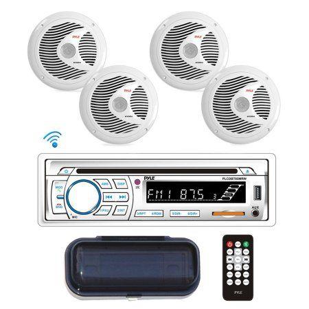 Auto Tires Speaker Kits Waterproof Speaker