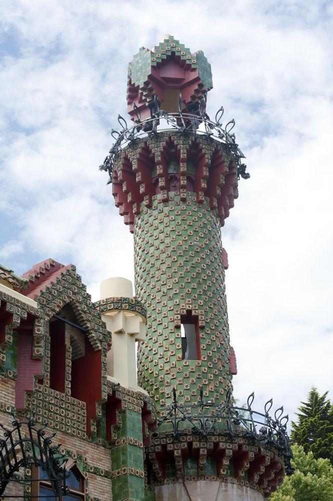 El Capricho, home designed by Antonio Gaudi, in Comilllas ...