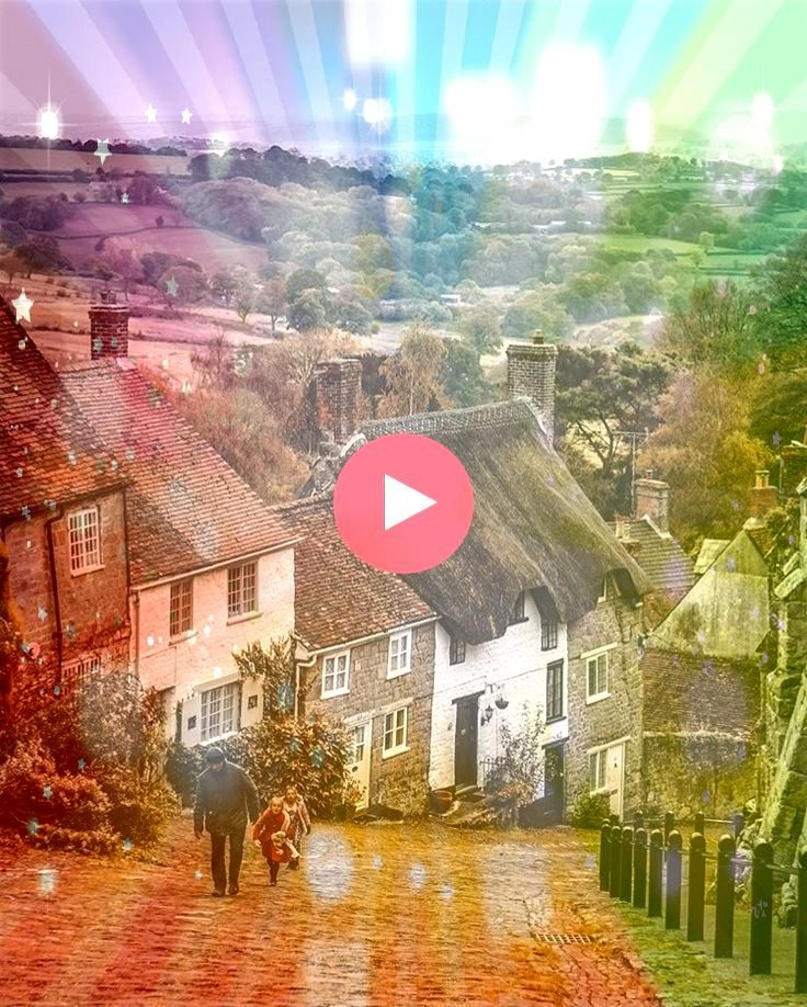 Hill in Shaftesbury DorsetGolds Hill in Shaftesbury Dorset Surrounded by dense woodlands and the sea Clovelly is known for its narrow cobbled street which is also the mai...