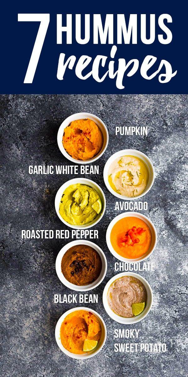 7 Amazing Hummus Recipe Flavors #desserthummus